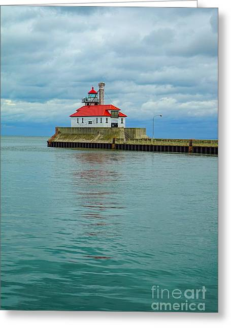 Duluth Lighthouse 2 Greeting Card