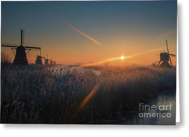 Dutch Dawn IIi Greeting Card
