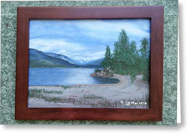 Dutch Harbour, Kootenay Lake Greeting Card