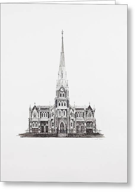 Dutch Reformed Church Graaff-reinet Greeting Card