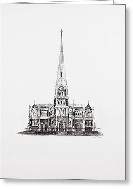 Dutch Reformed Church Graaff-reinet Greeting Card