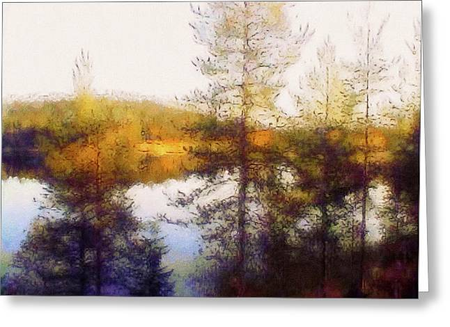 Early Autumn In Finland Greeting Card