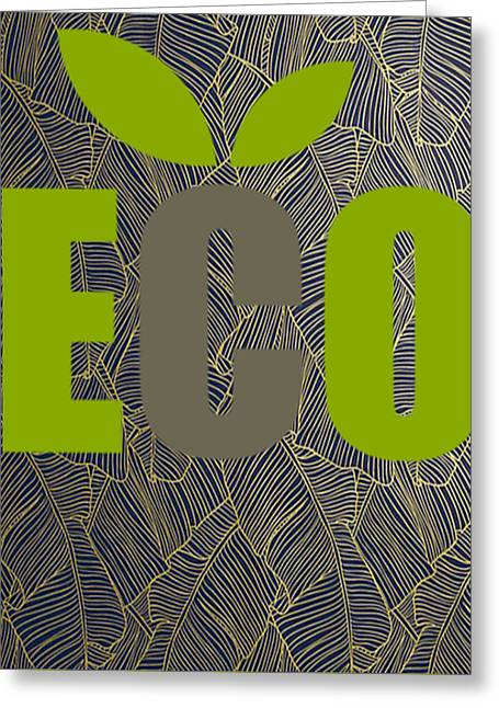 Eco Green Greeting Card