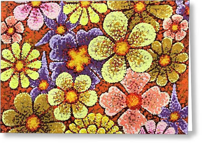 Efflorescent 6 Greeting Card