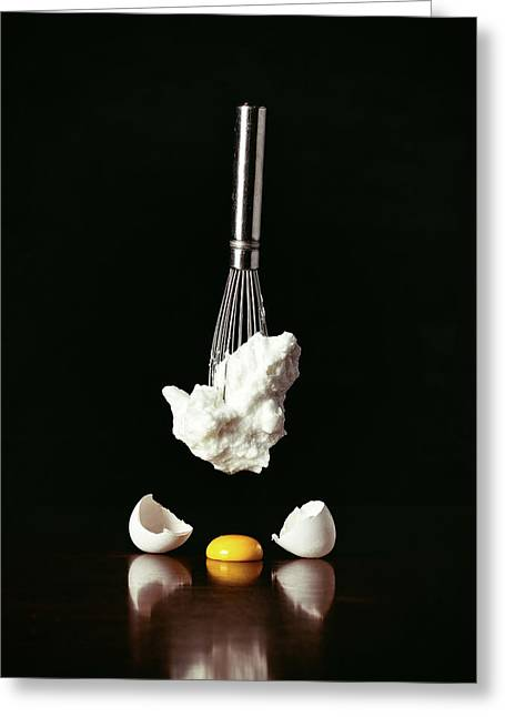Egg Deconstructed Greeting Card