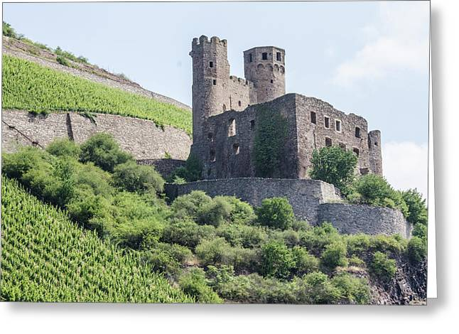 Ehrenfels Castle Greeting Card