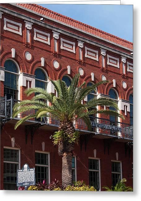 El Centro Espanol De Tampa Greeting Card