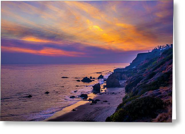 El Matador Sunset Greeting Card