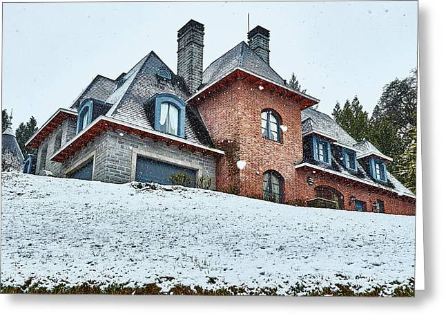El Messidor Residence In The Argentine Patagonia Greeting Card