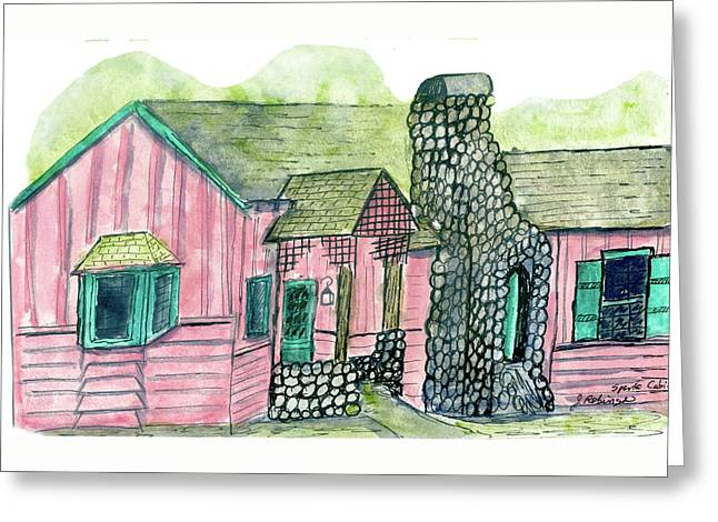 Spence Cabin In Elkmont Greeting Card