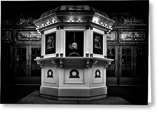 Greeting Card featuring the photograph Elgin And Winter Garden Theatre Centre Box Office by Brian Carson