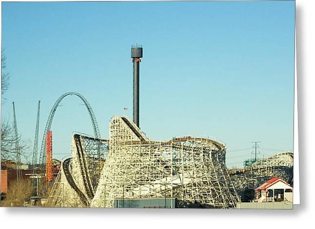 Elitch Gardens Theme Park 1 Greeting Card