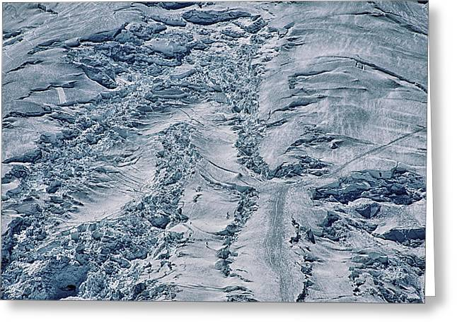 Emmons Glacier On Mount Rainier Greeting Card