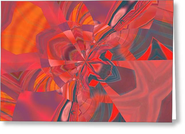 Greeting Card featuring the digital art Emotion by A zakaria Mami