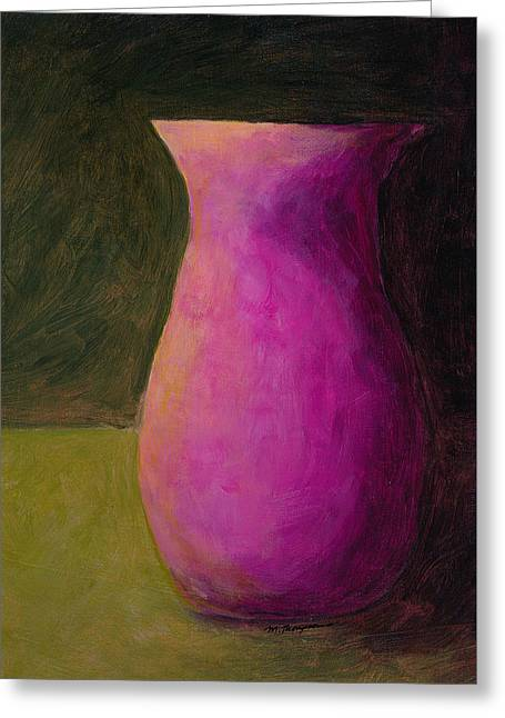 Empty Vases - Green Greeting Card