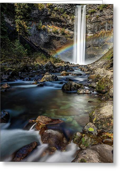 Greeting Card featuring the photograph Enchanting Brandywine Falls by Pierre Leclerc Photography