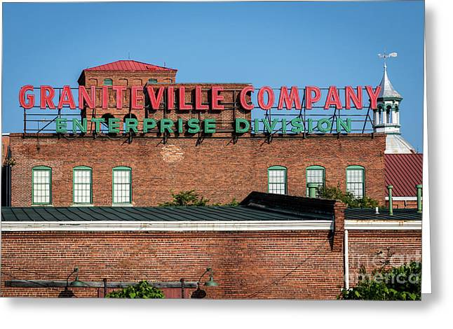 Enterprise Mill - Graniteville Company - Augusta Ga 1 Greeting Card