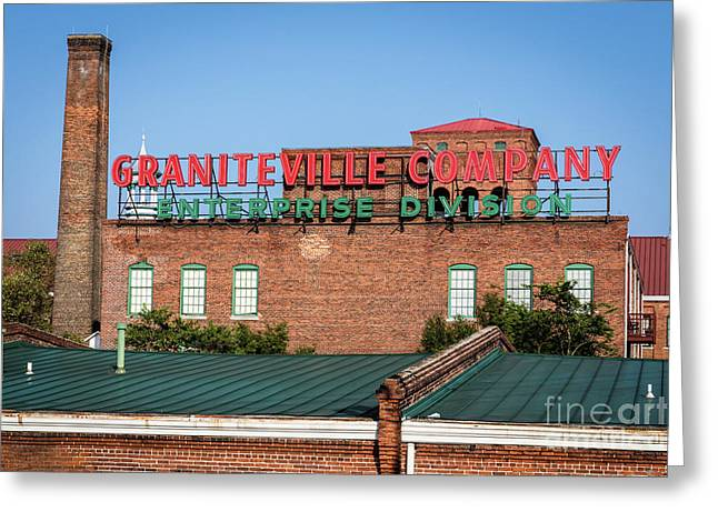 Enterprise Mill - Graniteville Company - Augusta Ga 2 Greeting Card
