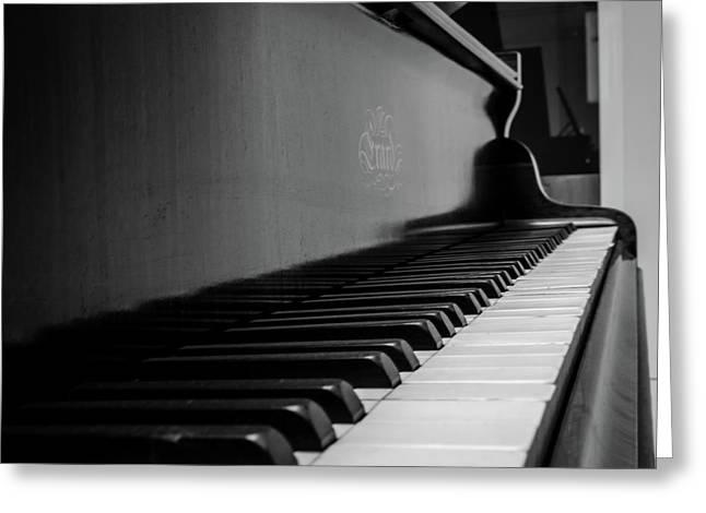 Erard Piano Greeting Card