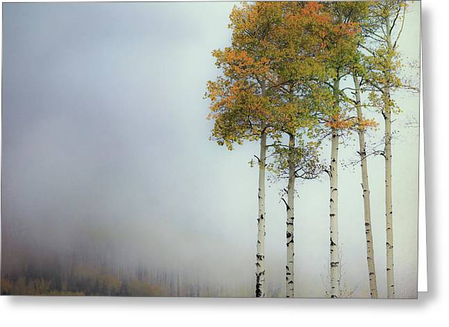 Ethereal Autumn Greeting Card