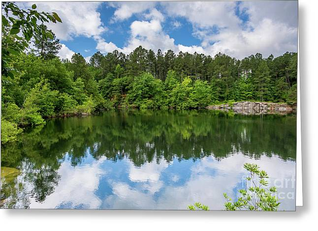 Euchee Creek Park - Grovetown Trails Near Augusta Ga 1 Greeting Card
