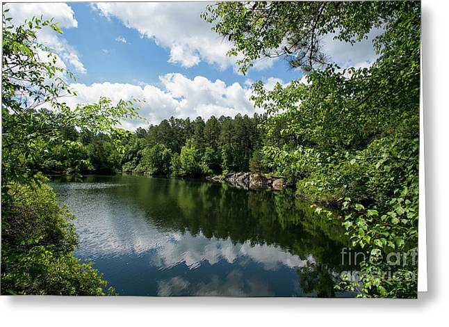 Euchee Creek Park - Grovetown Trails Near Augusta Ga 2 Greeting Card