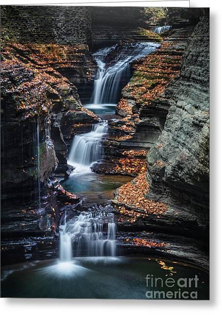Every Teardrop Is A Waterfall Greeting Card