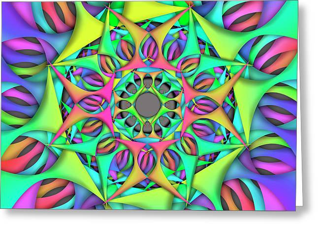 Exper Object Remix  Greeting Card