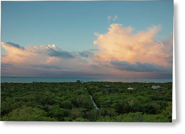 Exuma Skies Greeting Card