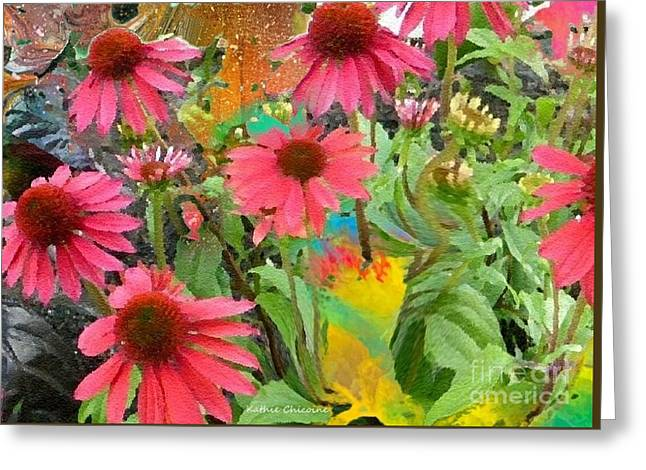 Fairy Among The Flowers Greeting Card