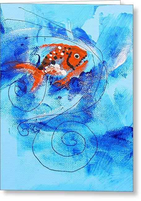 Fake Nemo Fish Greeting Card
