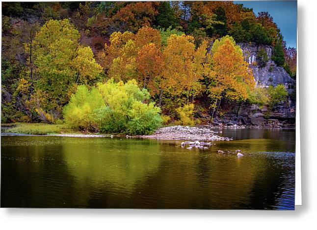 Fall Colors Of The Ozarks Greeting Card