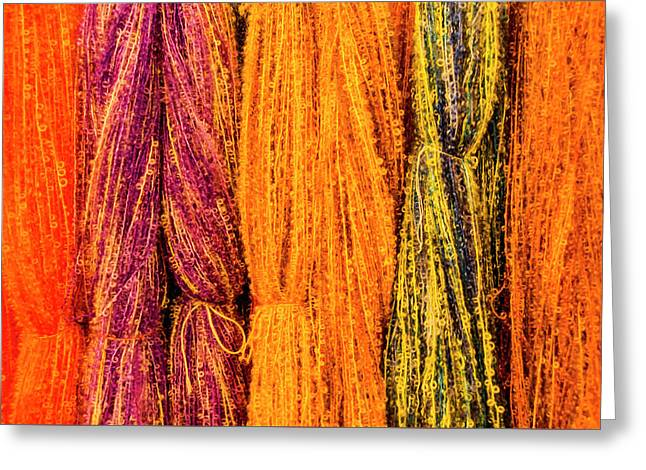 Fall Fibers 2 Greeting Card