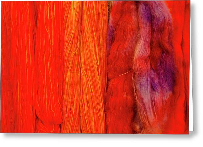 Fall Fibers 3 Greeting Card