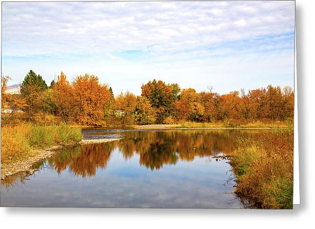 Greeting Card featuring the photograph Fall In Emmett, Idaho by Dart and Suze Humeston