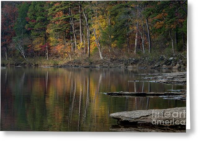 Greeting Card featuring the photograph Fall Reflections by Joe Sparks