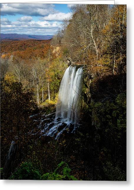 Greeting Card featuring the photograph Falling Spring Falls by Pete Federico