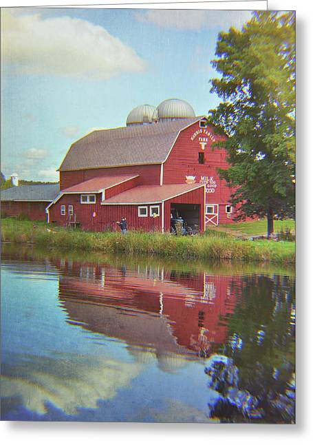 Farm Reflection Greeting Card by JAMART Photography