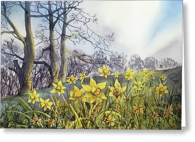 Field Of Hope At Burton Agnes Greeting Card