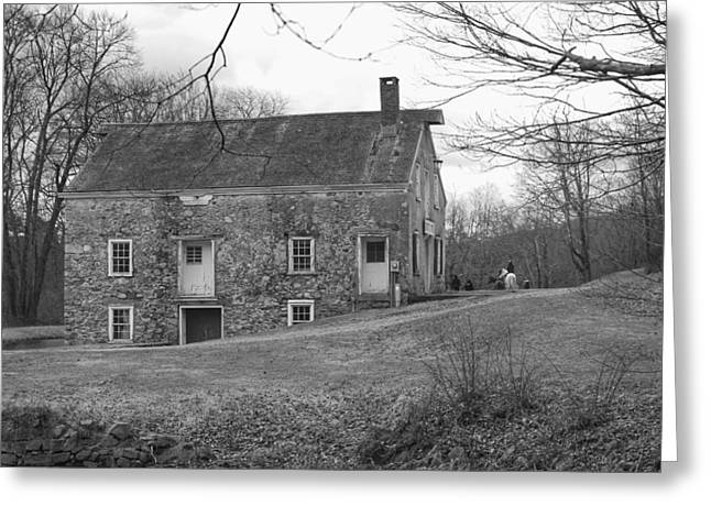 Smith's Store On The Hill - Waterloo Village Greeting Card