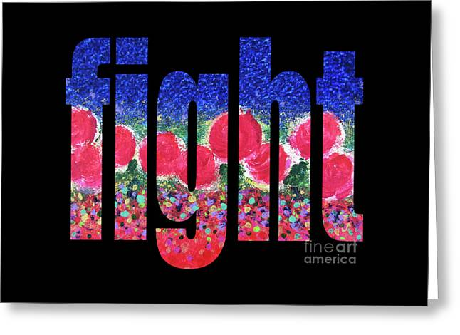 Fight 1003 Greeting Card