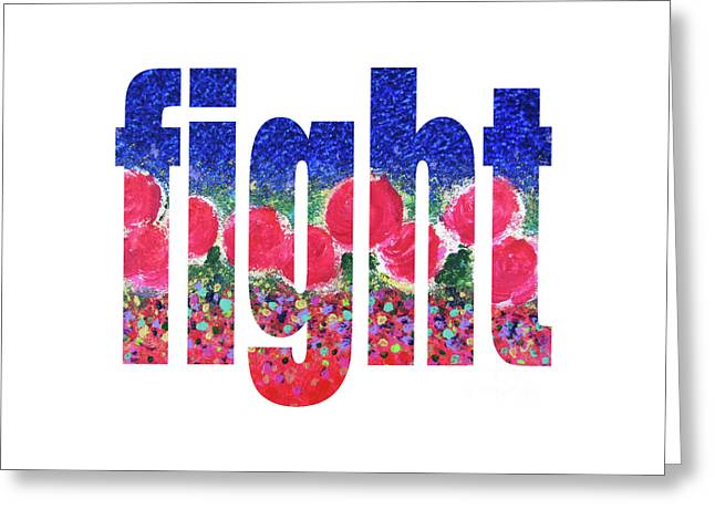 Fight 1004 Greeting Card