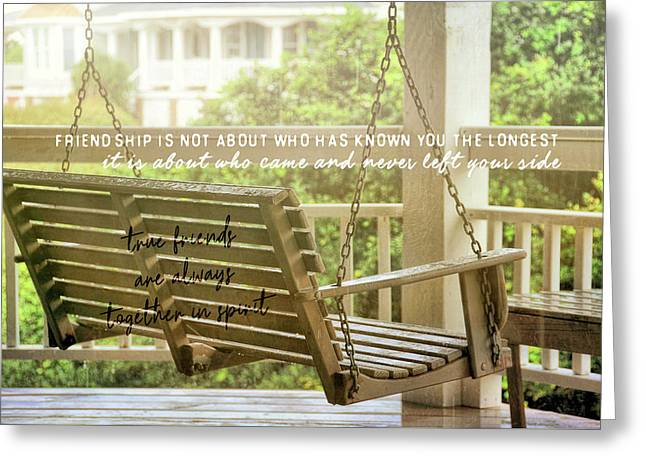 Greeting Card featuring the photograph Find Perspective Quote by JAMART Photography