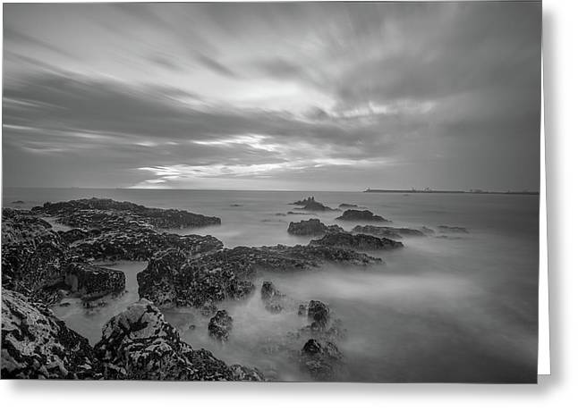Greeting Card featuring the photograph Fine Art Of The Sea by Bruno Rosa