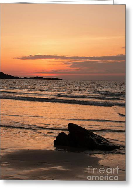 Fine Art Sunset Collection Greeting Card