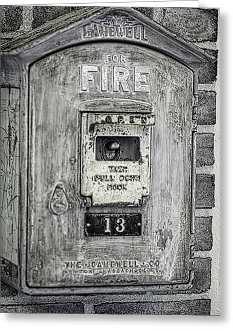 Firebox Greeting Card