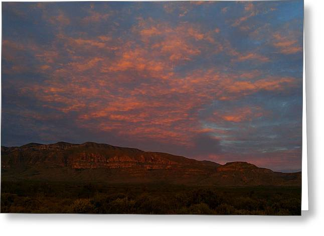 First Light Over Texas 3 Greeting Card
