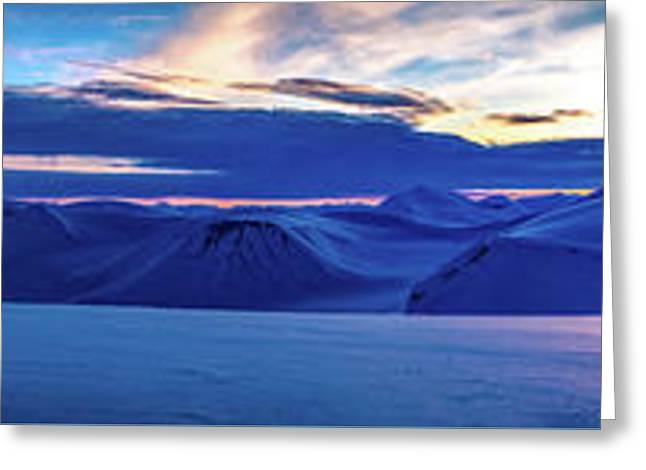 First Sun After Polar Night Greeting Card