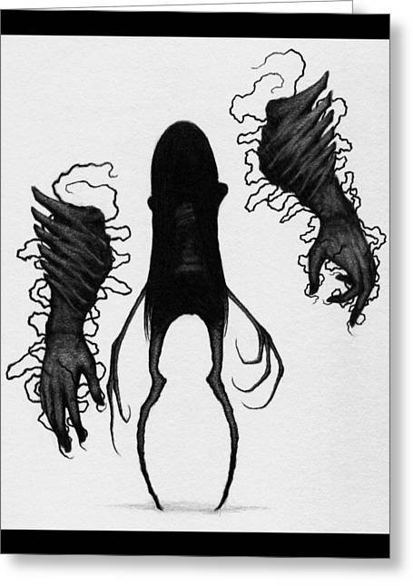 Firstborn Of The Orphan Wing - Artwork Greeting Card