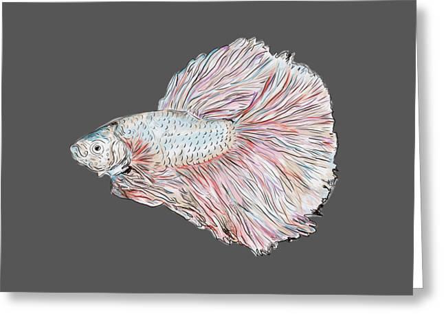 Fish Painting Greeting Card